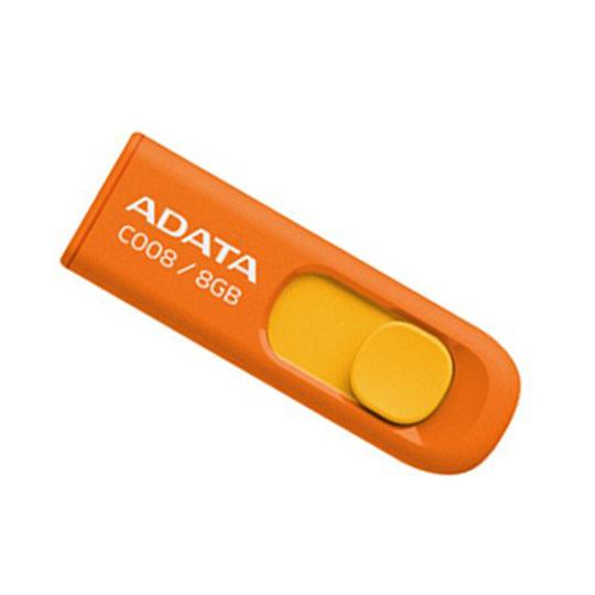 MEMORIA USB 2.0 ADATA C008 DE 8 GB NARANJA