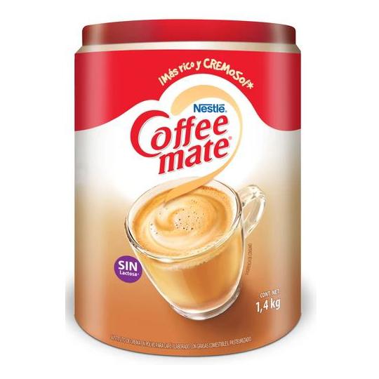SUSTITUTO DE CREMA COFFEE MATE CONTENIDO NETO 1.5 KG