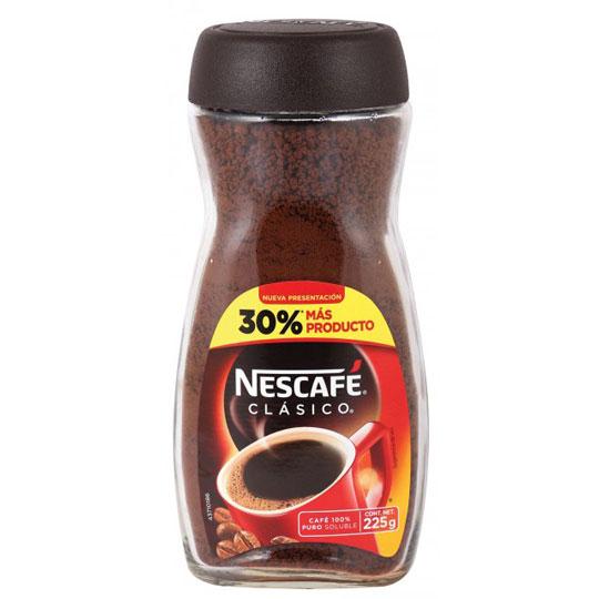 CAFE SOLUBLE NESCAFE CLASICO 225 GR
