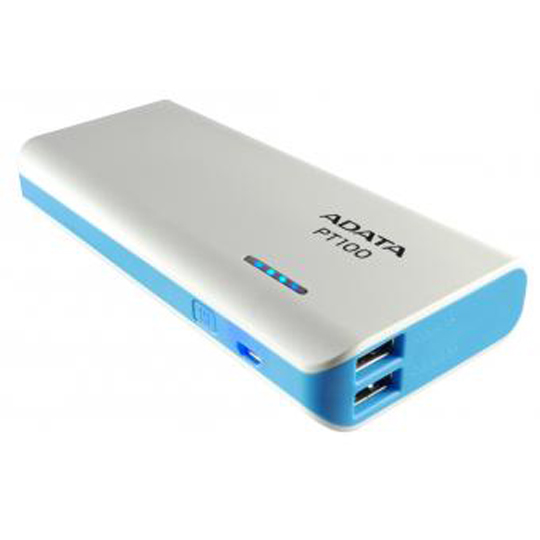 POWER BANK ADATA PT100B POTENCIA DE 10000 MAH