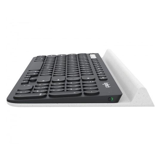 TECLADO MULTIDISPOSITIVO LOGITECH K780 MULTI-DEVICE INALAMBRICO CONEXION USB