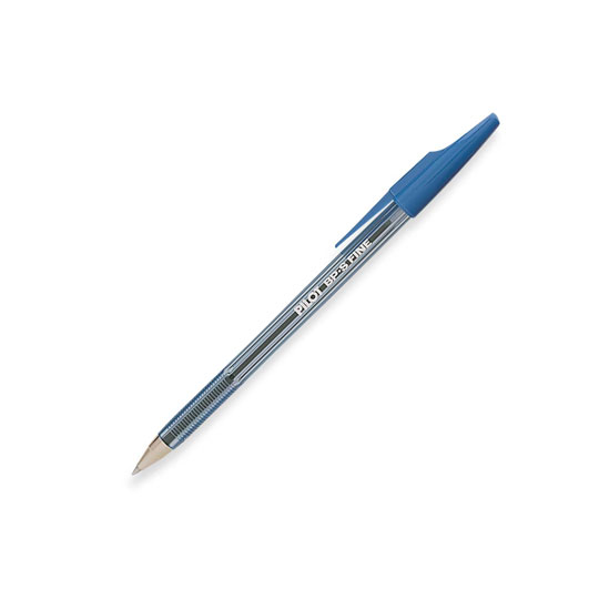 BOLIGRAFO PILOT THE BETTER COLOR AZUL DE PUNTO FINO 0.5 MM TIPO DE BARRIL REDONDO 1 PIEZA