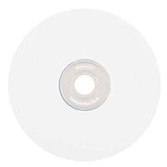 CD IMPRIMIBLE CD-R VERBATIM VB94904 CAPACIDAD 700 MB VELOCIDAD 52X CAMPANA DE 50 PIEZAS