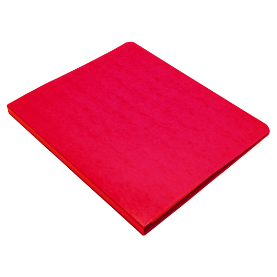 FOLDER DE PAPEL TAMAÑO OFICIO ACCO ACCOPRESS P4568 TIPO CARPETA COLOR ROJO 1 PQ C/10 PZS