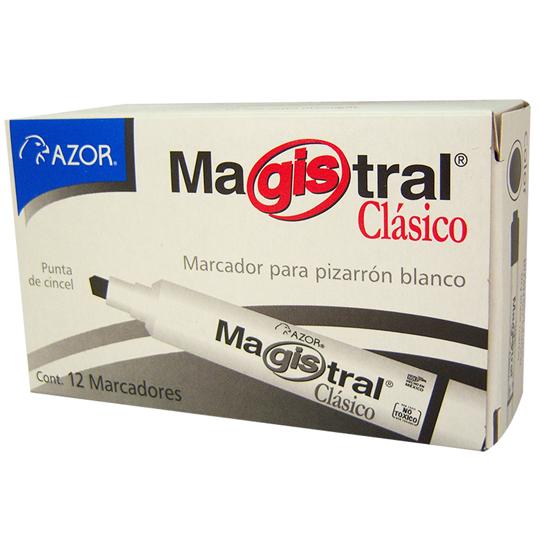 MARCADOR PARA PIZARRON AZOR MAGISTRAL CLASICO 83407 COLOR CAFE 1 PIEZA