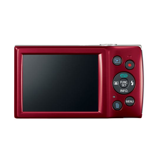 CAMARA DIGITAL CANON E180 20 MEGAPIXELES COLOR ROJO