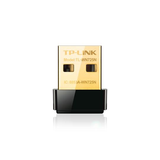 TARJETA DE RED INALAMBRICO USB NANO TP-LINK TL-WN725N INTERFAZ USB 150MBPS