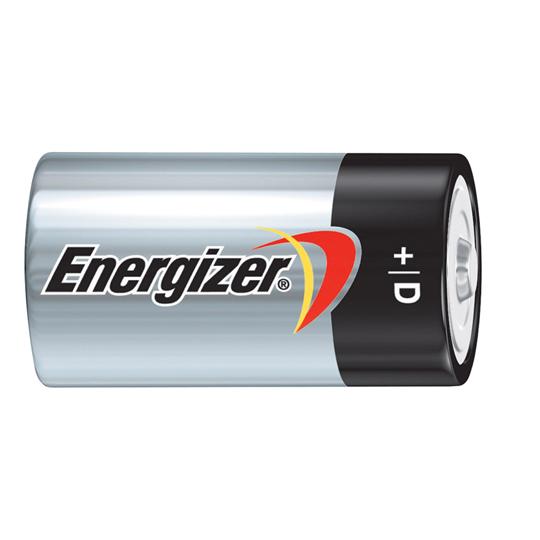 PILA ALCALINA ENERGIZER D DE 1.5 VOLTS 2 PIEZAS