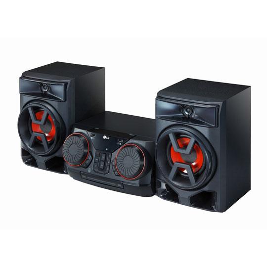 MINICOMPONENTE LG CK43 300W COLOR NEGRO BLUETOOTH Y USB