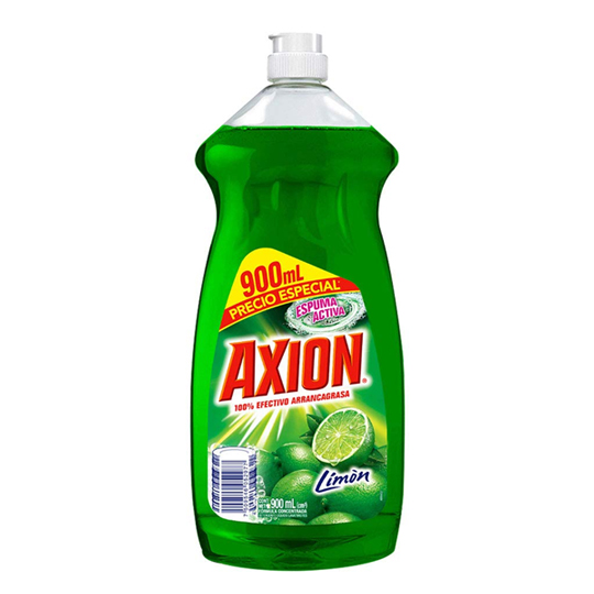 DETERGENTE LIQUIDO AXION 900 ML