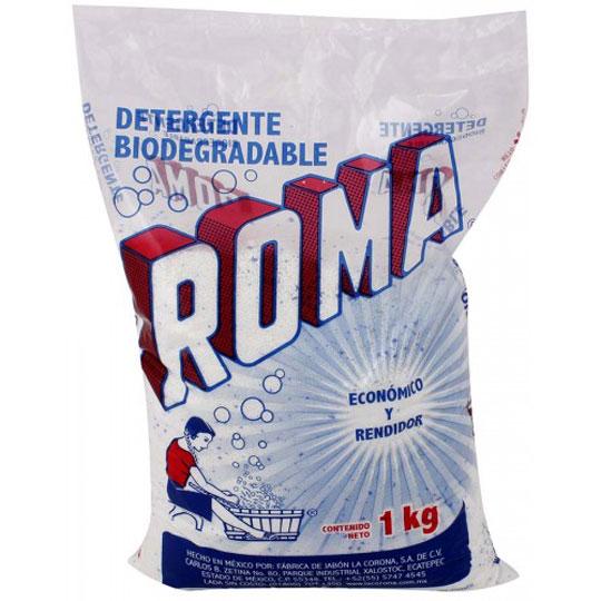 DETERGENTE EN POLVO ROMA 1 KG