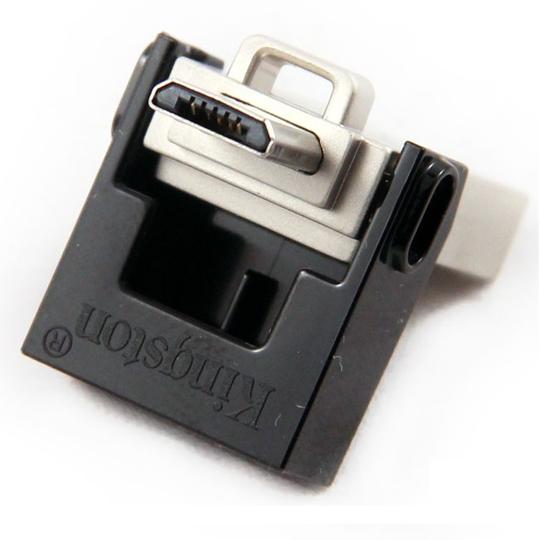 MEMORIA USB 3.0 KINGSTON DTDUO DE 16 GB GRIS