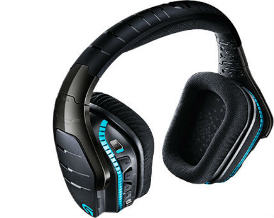 DIADEMA GAMER INALAMBRICA LOGITECH G933 BLUETOOTH COLOR NEGRO