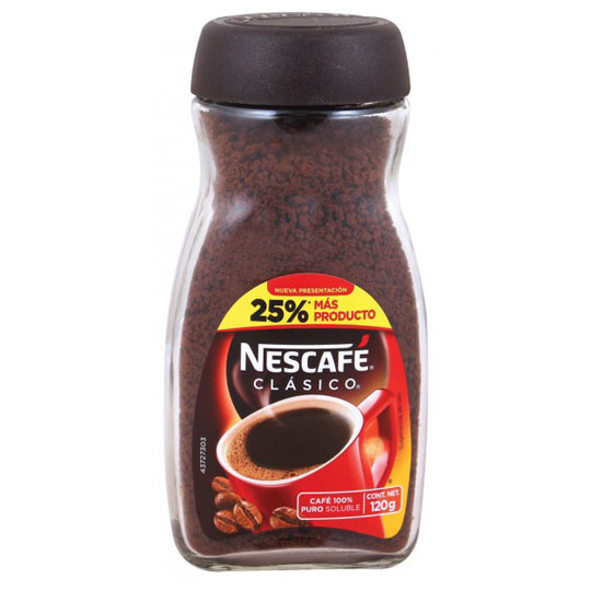 CAFE SOLUBLE NESCAFE CLASICO 120 GR