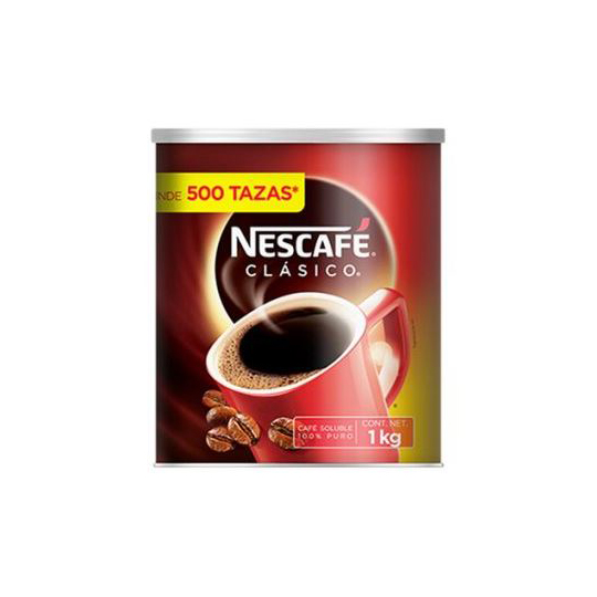 CAFE SOLUBLE NESCAFE CLASICO 1 KG