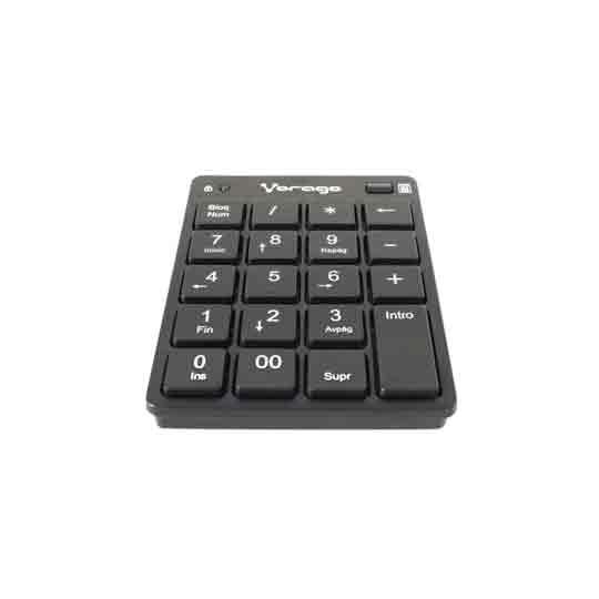 TECLADO NUMERICO VORAGO KB-105 ALAMBRICO CONEXION USB
